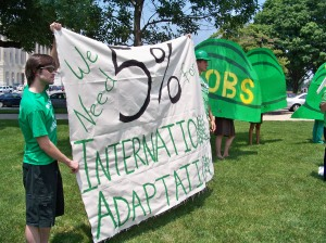 Adaptation aid banner