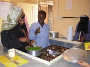 CDTD cooking class